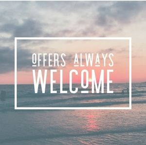 Other - Reasonable offers always welcome!